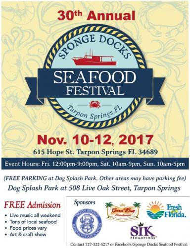 Sponge Docks Seafood Fest